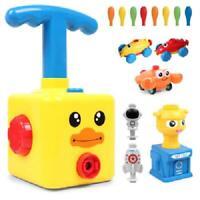 Fun Inertia Balloon Powered Car Toys Aerodynamics Educational Toy Kids Gifts