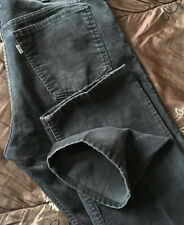 Superb Vintage USA Made Levi's 519's Straight Fit Brown Cords. 33W x 34L. (C756)