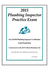 2015 IAPMO Plumbing Inspector Practice Exam on USB Flash Drive