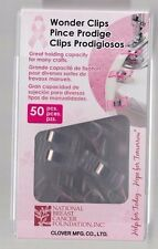 Breast Cancer Wonder Clips - Pack of 50 from Clover