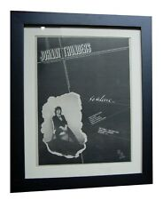 JOHNNY THUNDERS+So Alone+TOUR+POSTER+AD+ORIGINAL 1978+FRAMED+EXPRESS GLOBAL SHIP