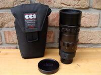 """Leitz Canada - Leitz Leica Telyt-M 1:4.8/280mm schwarz """"aus Sammlung"""" - TOP!"""