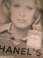 1975 Chanel No 5 Cologne Original Print Ad-Catherine Deneuve - 8.5 x 10.5""