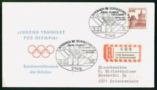 Mayfairstamps Germany 1982 Reg Schonach im Schwarzwald Building Olympic Rings Co