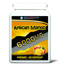 PURE SUPER AFRICAN MANGO 6000MG PER CAPSULE (TRIPLE STRENGTH) - Weight loss aid