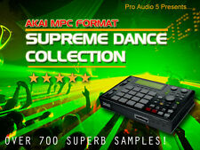 Supreme DANCE COLLECTION-downl0ad-AKAI MPC 1000, 4000, 2500, 2000xl +. WAV