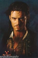 POSTER: MOVIE REPRO: PIRATES OF CARRIBEAN - WILL     #8722    RAP111 C