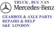MERCEDES gearbox & diff ACTROS ATEGO SPRINTER VARIO  repairs & parts london