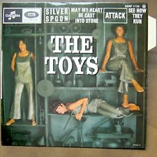 THE TOYS Silver Spoon EP RARE FRENCH PS MINT/MINT!
