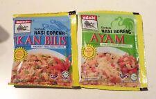 2x NASI GORENG Ikan Bilis Ayam MALAYSIA Fried Rice Mix