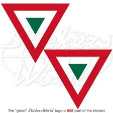"""MEXICO Mexican AirForce Aircraft Roundel 3"""" Stickers x2"""