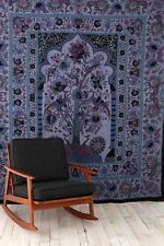 Tree Of Life Tapestry from Urban Outfitters Blue Mediterranean
