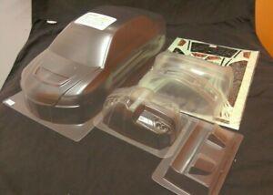 1/10 RC Car PC Clear 195mm Body Shell Lancer Evo 9 fits Tamiya,Yokomo