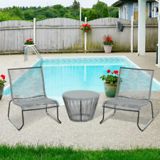 Metal Outsunny Up to 2 Seats Garden & Patio Furniture Sets