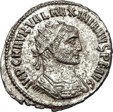 MAXIMIAN 285AD Antioch Authentic Ancient Roman Coin JUPITER & HERCULES i65682