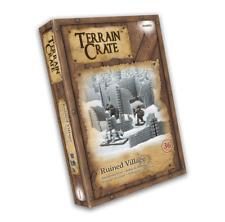 Mantic Terrain Crate: Ruined Village 36 Piece Set - Fantasy Scenery