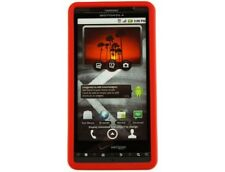 Protective Silicone Skin Case Red For Motorola Droid X