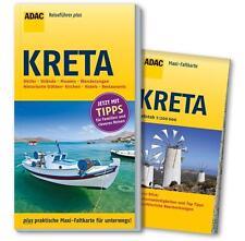 REISEFÜHRER Kreta mit Wanderungen, ADAC + große Landkarte, UNGELESEN WIE NEU