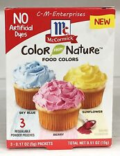 McCormick Color From Nature Assorted Food Coloring Powder Color 0.51 oz