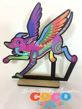 "10"" Disney Coco Dante Alebrije Wood Centerpiece Table Party Birthday Decoration"