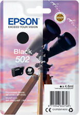 Original Epson Tinte Patrone 502 (Fernglas) Expression Home XP 5100 5105 schwarz