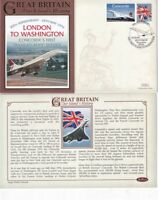 24 MAY 2006 30th ANNIVERSARY CONCORDE LONDON TO WASHINGTON BENHAM LE COVER