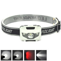 LED 900LM Mini Headlight Bright Headlamp Flashlight Torch Lamps Hiking  !