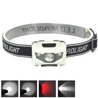 LED 900LM Mini Headlight Bright Headlamp Flashlight Torch Lamps Hiking-Camin