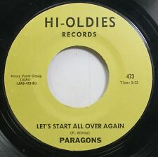 Rock 45 Paragons - Let'S Start All Over Again / Florence On Hi-Oldies Records
