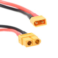 XT60 Female to XT30 Male Connector Adapter with 10cm 16AWG Wire