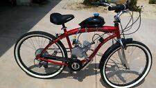 Motorized Bicycle Mens Cruiser Beach Fast 185Mpg