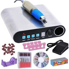 Portable 30,000RPM Nail Drill Kit Ultra-thin Manicure Art Electric Machine File