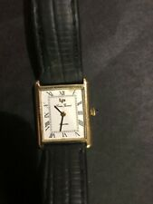 Vintage Lucien Piccard 14k Yellow Gold Wind Up Watch Jewelry LP14K