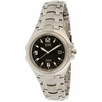 Citizen Men's Eco-Drive BM1290-54F Silver Titanium Quartz Fashion Watch