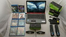 "Toshiba Qosmio x775-3DV80 3D Gaming Laptop 17.3"" with 3D glasses 120 Hz Full HD"