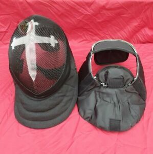 HEMA Crusader Mask WMA protective face BLACK 350N removable lining Extra Large