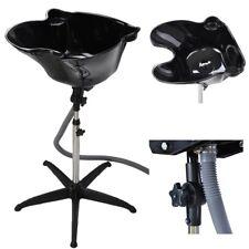 Height Adjust Shampoo Basin Hair Treatment Bowl Baber Salon Tool Black New PP
