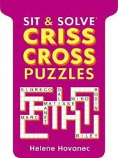 Sit and Solve Crisscross Puzzles by Helene Hovanec (2013, Paperback)