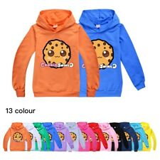 Kids COOKIE SWIRL C Hoodie Jumper Birthday Present Gift Hooded Sweatshirt Top