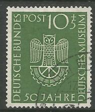 WEST GERMANY. 1953. Science Museum, Munich Commemorative. SG: 1089. Fine Used.