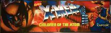 """X-Men Children of the Atom (COTA) Arcade Marquee 26""""x8"""""""