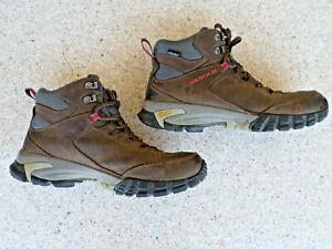 Vasque Brown Leather, Waterproof, HIking Boots. Men's 10