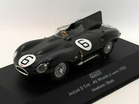 Quartzo 1/43 Scale QLM020 - Jaguar D Type #6 Winner Le Mans 1955 - BRG
