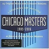 VARIOUS Legend of House Chicago Masters 1985 - 2006 DOUBLE CD  NEW - NOT SEALED