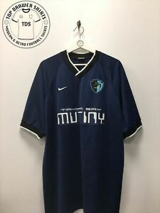 MLS Tampa Bay Mutiny training football shirt Men's Extra Large XL jersey
