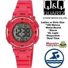 AUSSIE SELLER LADIES DIGITAL WATCH CITIZEN MADE M149J004 100M P$99.95 WARRANTY