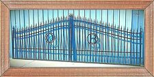 Driveway Gate #1098 18' Ft Wd Steel - Iron Home Yard Security Veterans Discount!