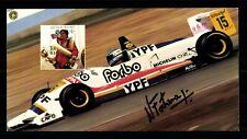 Norberto Fontana Autogrammkarte Original Sign Formel 1 Fahrer 1997 ##G 27148