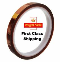 10mm / 1cm 33m 100ft High Temp. Heat Resistant Kapton Polyimide Electrical Tape