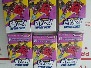 Kool-Aid Retro Purplesaurus Rex On The Go Singles Drink Mix Lot of 6